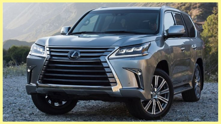2016 Lexus LX 570 Exterior, Interior and Official Drive