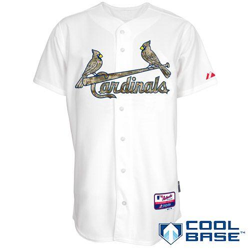 St. Louis Cardinals Authentic 2014 USMC Home Cool Base Jersey - MLB.com Shop