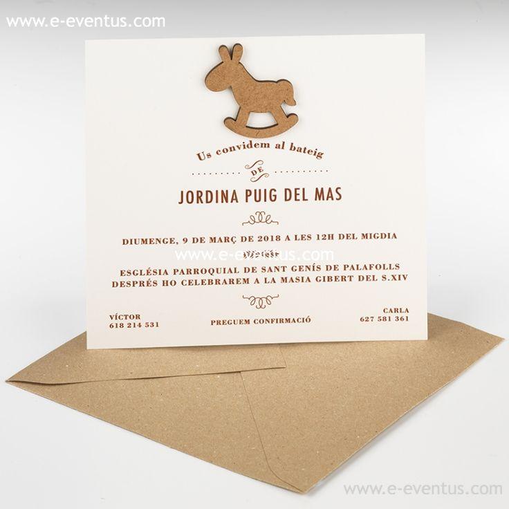 detalles · bautizo · personalizados · detalls · bateig · barcelona · tienda de detalles de bautizo · botiga detalls bateig · personalizados · diseño · recuerdo · detalle · regalo · invitados · natalicio · caballito · tarjetón · cuadrado · papel · verjurado · tinta · marrón · sobre · conjunto