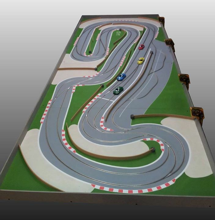 1000+ Images About 1/32 Slot Car Layouts On Pinterest