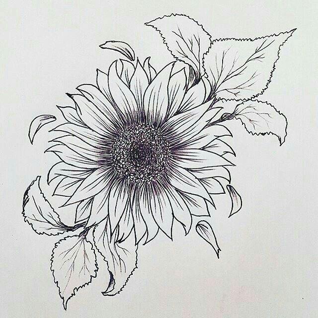Idea x girasole tattoo