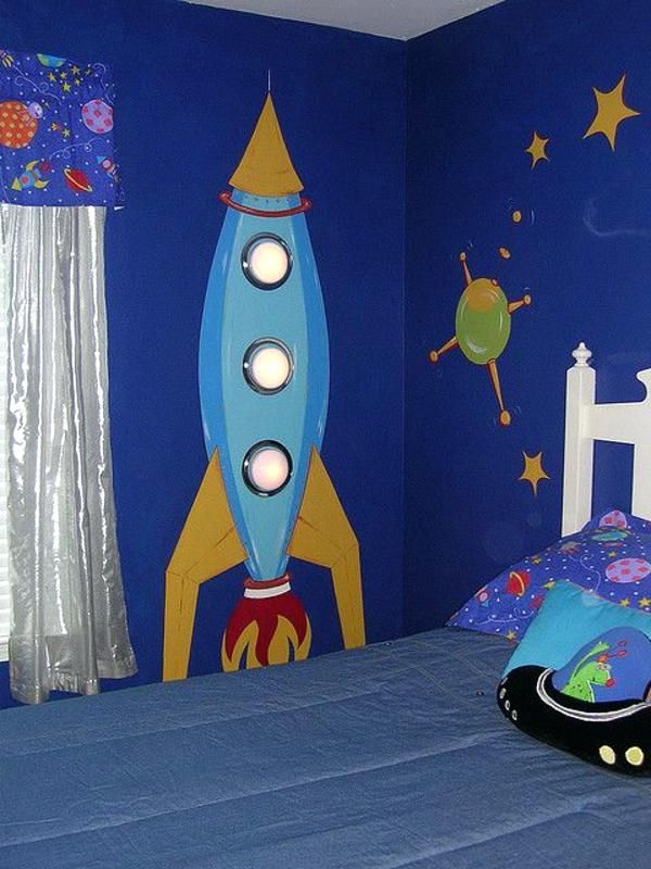 Kinderzimmer Weltraum
