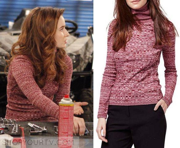 Last Man Standing: Season 5 Episode 13 Eve's Red Turtleneck Sweater