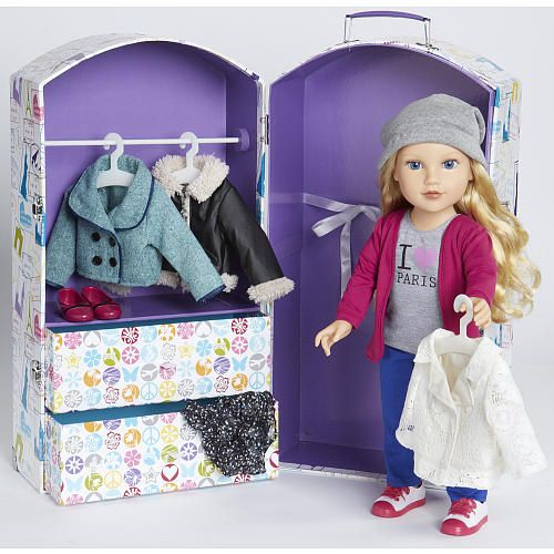 Journey Girls Travel Trunk Girl Dolls Us And Toys R Us