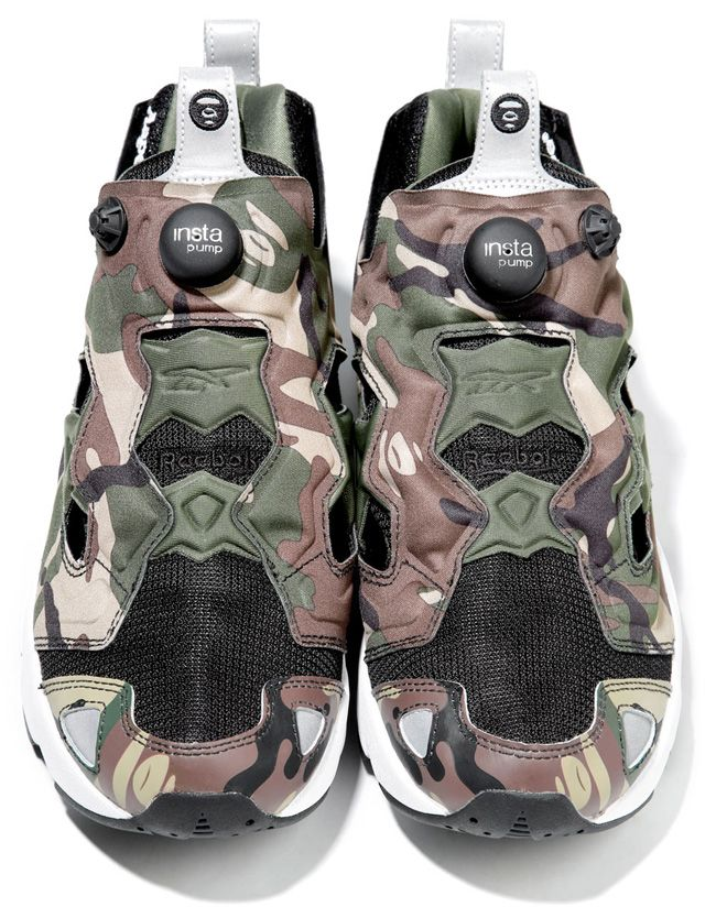 A Bathing Ape (BAPE) x Reebok Insta Pump Fury | Preview Pictures