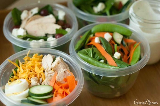 Make-Ahead Salad Recipes & A Salad Dressing Recipe, Too!