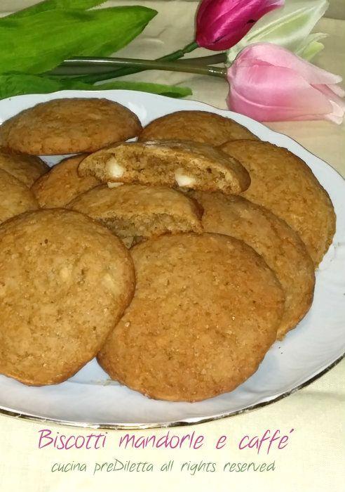 Biscotti mandorle e caffè, ricetta, cucina preDiletta