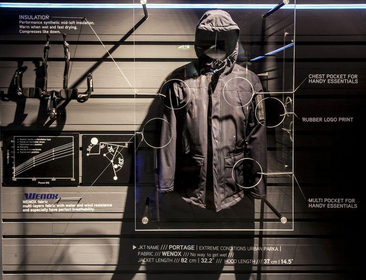 #North #Sails #Pitti #Immagine #Man #2014 #2015 #Fall #Winter #Collection #Pertex #Jacket #Primage #Wenox #fabric