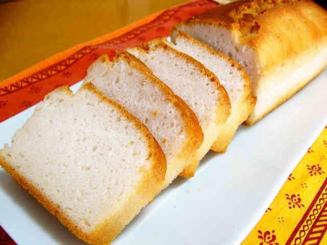 パウンド型で★小麦卵乳不使用★米粉パンの画像