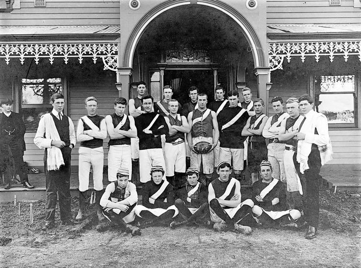 The Longerenong Agricultural College football team, 1906.