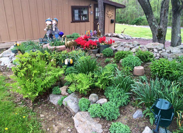 Side garden area.