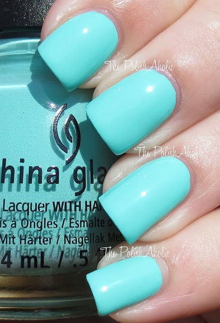 The PolishAholic: China Glaze Summer 2013 Sunsational Collection Swatches - Too Yacht to Handle