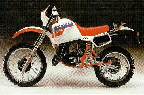 Tuareg 125 Rally, 1984-1985