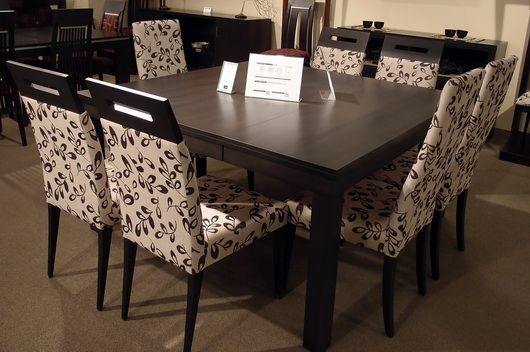 30 best home dining room images on pinterest dining chair dining rooms and dinner parties. Black Bedroom Furniture Sets. Home Design Ideas
