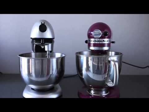 Test comparatif : Russell Hobbs Kitchen Machine Creations VS KitchenAid Artisan | chefNini