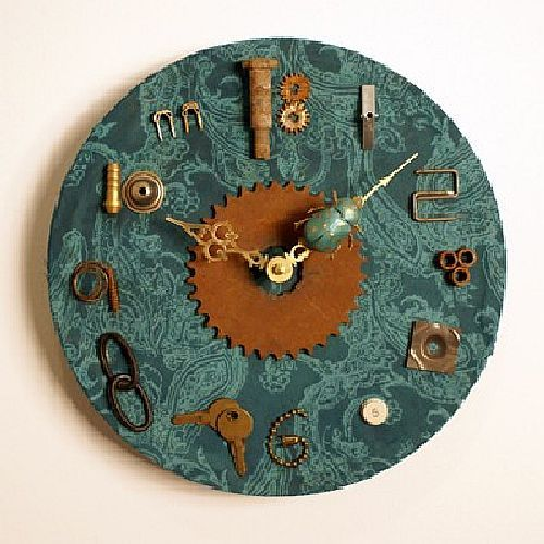 30 Creatively Cool Steampunk Diys: 25+ Best Ideas About Cool Clocks On Pinterest