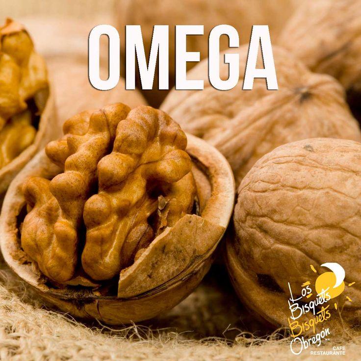 Las nueces, son la mejor fuente de Omega 3, Omega 6 y Omega 9; además contribuye al proceso de maduración cerebral que te ayudará a mejorar tu memoria. #BisquetsObregón #LBBO #Nuez #Beneficios
