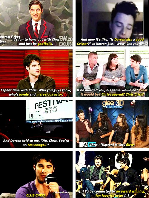 Glee cast dating each other