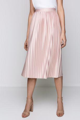 Фото Юбка светло-розовая женщин светло-розовая (10200180128) размеры XS, S, M, L. Большое фото. Вид спереди.