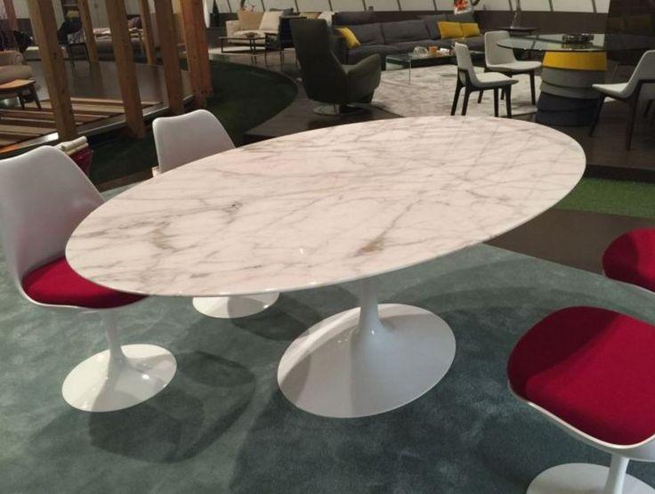 Tavolo chicco ~ Tavolo saarinen knoll good table ovale dessine par eero saarinen