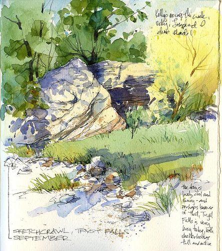 Visit  Samantha Rankins board - sketchbook ..................Rocks and Shade | Flickr - Photo Sharing!