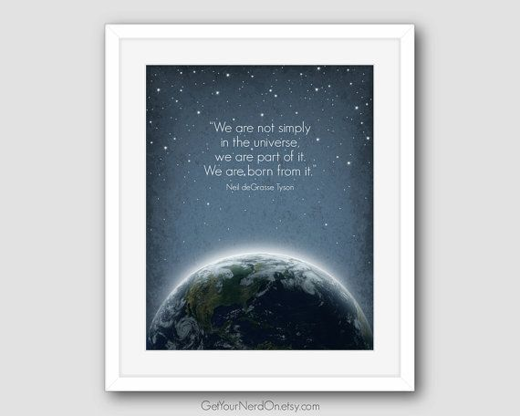 Astronomy Poster for Space Nerds  Available as by GetYourNerdOn