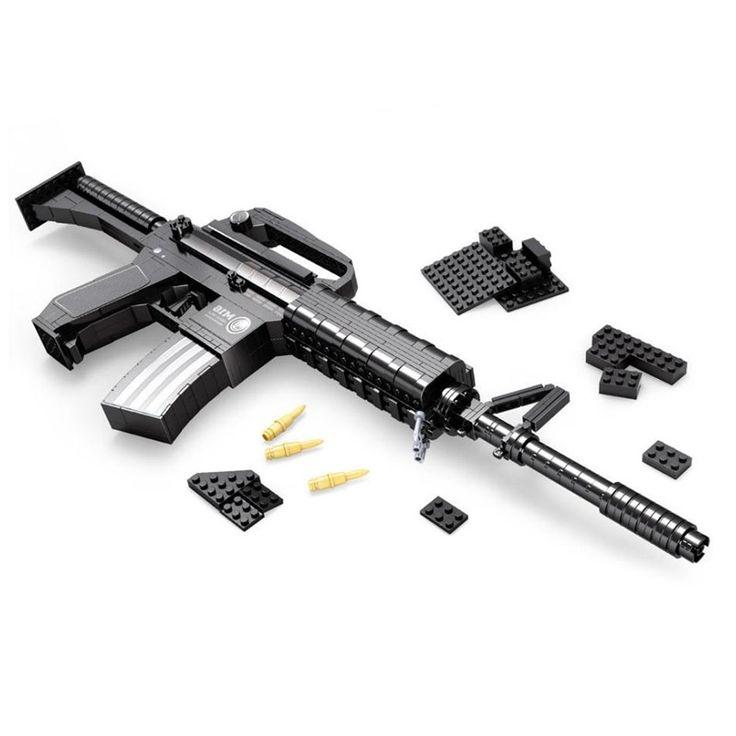 26.25$  Watch here - https://alitems.com/g/1e8d114494b01f4c715516525dc3e8/?i=5&ulp=https%3A%2F%2Fwww.aliexpress.com%2Fitem%2F2016-AUSINI-22607-Assembled-Plastic-Building-Blocks-Educational-Toys-For-Children-Of-Military-Assault-Rifles-Toys%2F32747561655.html - 2016 AUSINI 22607 Assembled Plastic Building Blocks Educational Toys For Children Of Military Assault Rifles Toys For Children