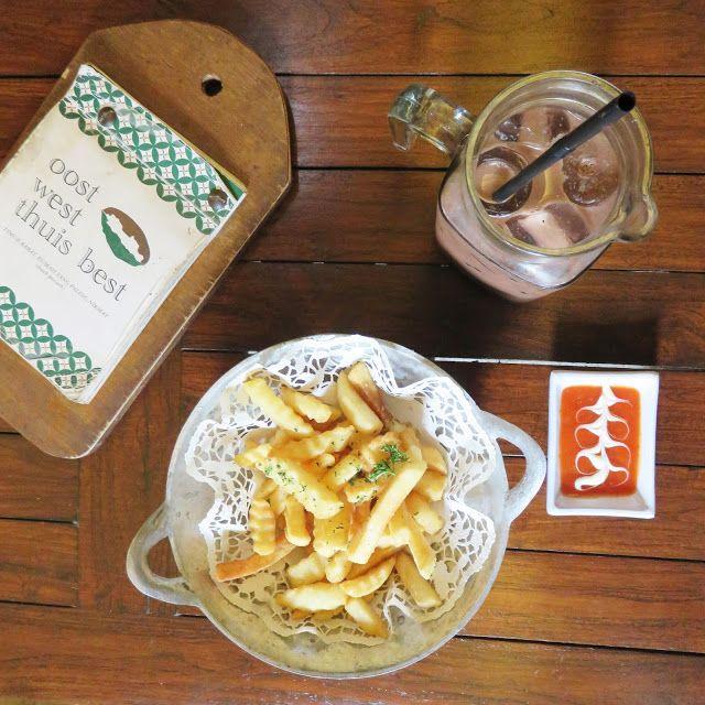 Patat Krokant & Koude Chocolade