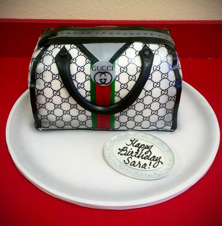 Gucci Cake Designs: GUCCI Purse Cake By Maryscakeshop.com