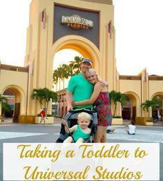 Taking a Toddler to Universal Studios