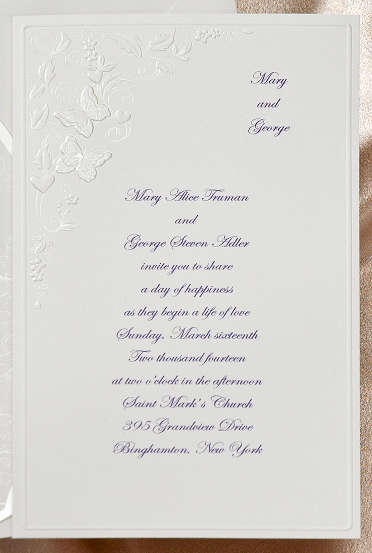 12 best Butterfly Themed Wedding Invitations images on Pinterest ...