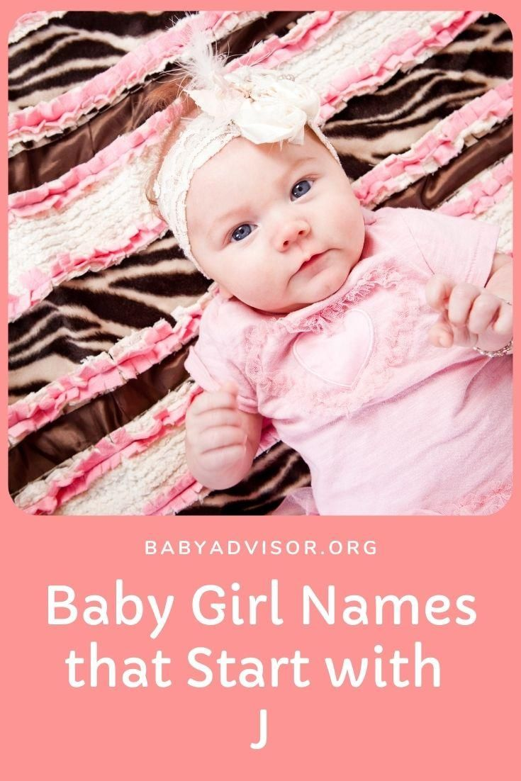 Baby Girl Names that Start with J in 8  Baby girl names, Cool