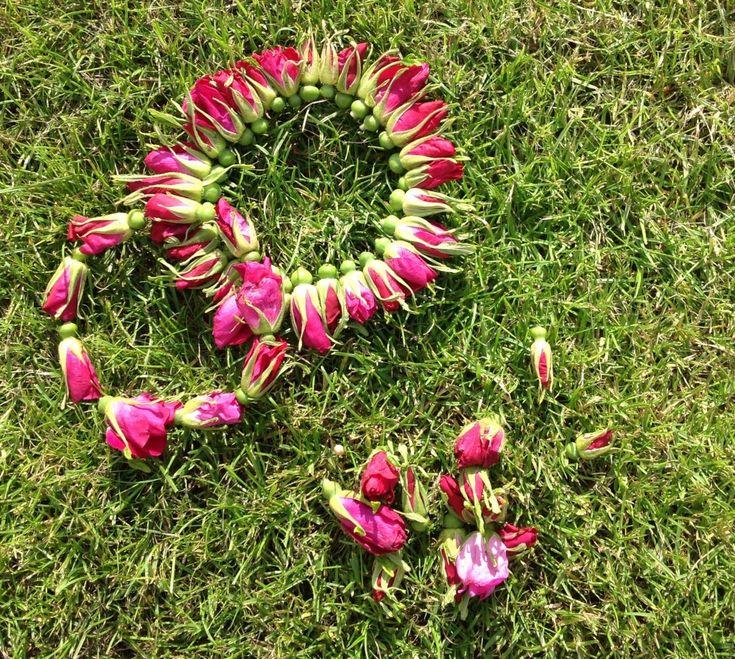 Hybenkranse - bundet af rosenknopper fra hybenroser. Så nemt og dekorativt - se DIY på bloggen