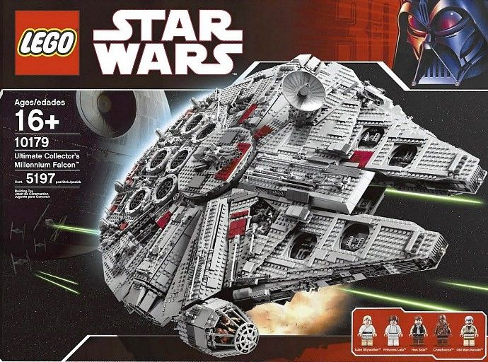 10179-1: Ultimate Collector's Millennium Falcon | Brickset: LEGO set guide and database