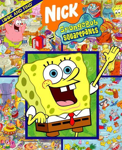 Spongebob books | Nickelodeon Spongebob Book
