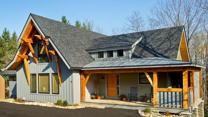 The Marshal: Timber Home Living Magazine Readeru0027s Choice Award  Winner   Best Timber Home Under Sq.