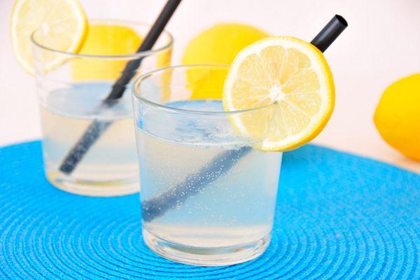 Fructosearme Zitronenlimonade