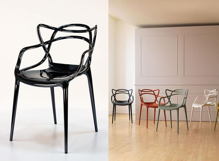 Masters Titanium - najnowsze metaliczne tytanowe wykończenie kultowego krzesła Masters firmy Kartell. Już dostępne na Designisgood.pl