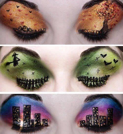 Halloween eyes eyes makeup art halloween halloween 2013 adult costume ideas