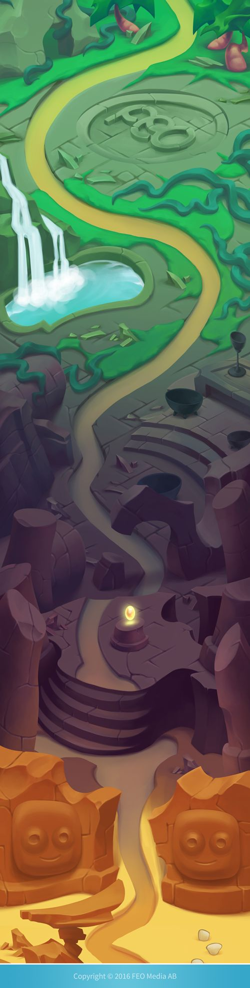 Level maps for Crozzles on Behance