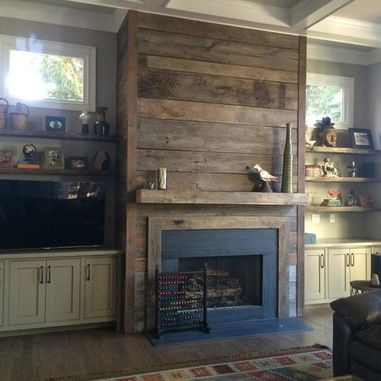 Reclaimed Wood Fireplaces in Atlanta