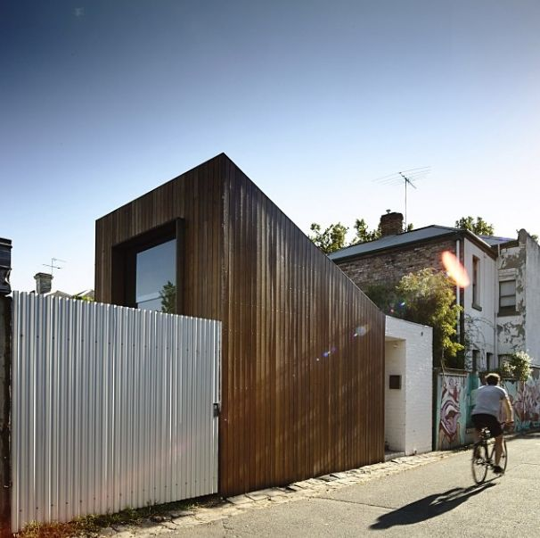 Modern Home Design - A Laneway House - ELLE DECOR