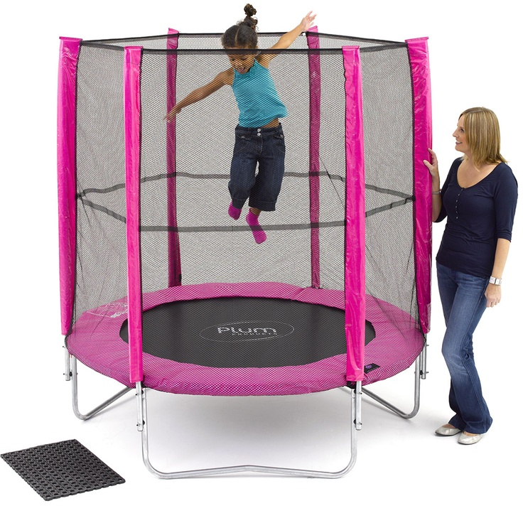Plum 6ft Trampoline Combo Pink $137.00