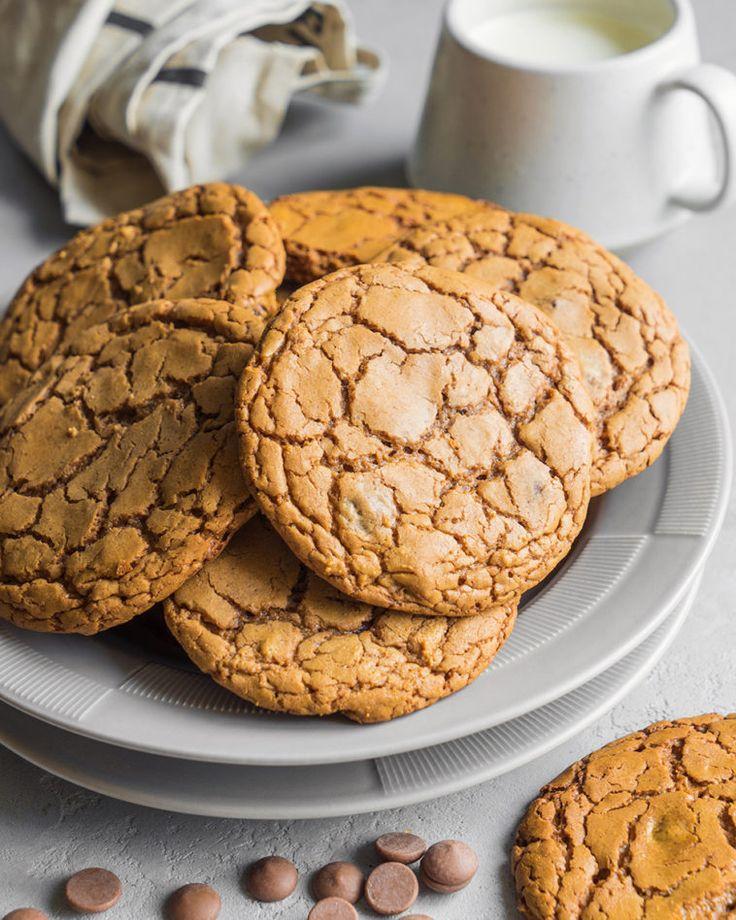 Идеальное печенье с молочным шоколадом - ссылка на рецепт - https://recase.org/idealnoe-pechene-s-molochnym-shokoladom/