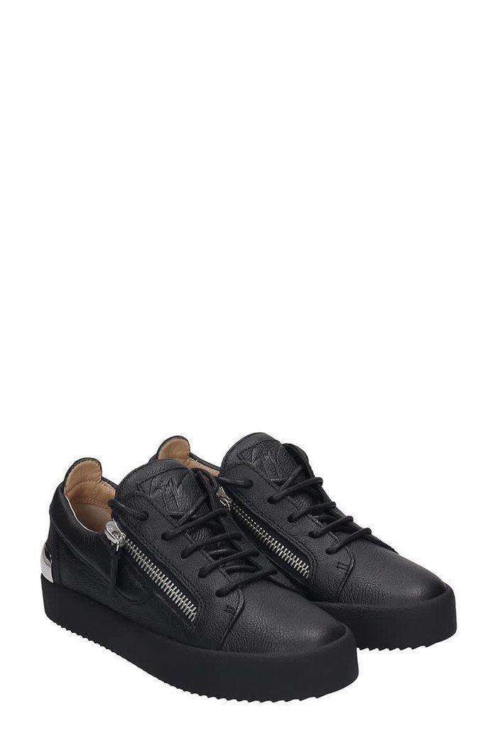 Giuseppe Zanotti Gail Steel Sneakers In