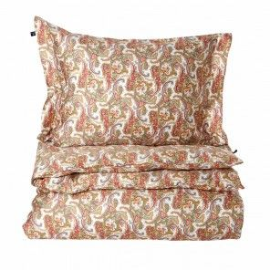 GANT Home Påslakan Summer Paisley Crananidin Orange 150x210cm