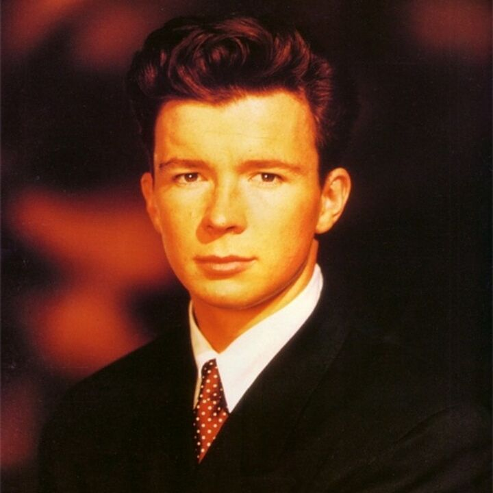 Pin On Rick Astley Never Gonna Give You Up Meme Rolled