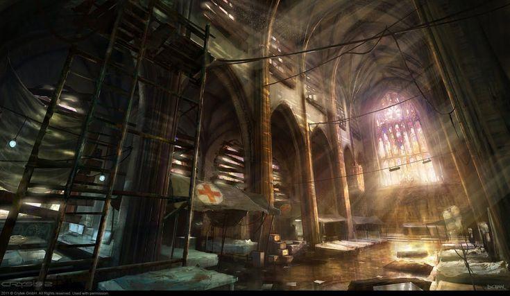 Art of Dennis Chan: Crysis 2 Concept art