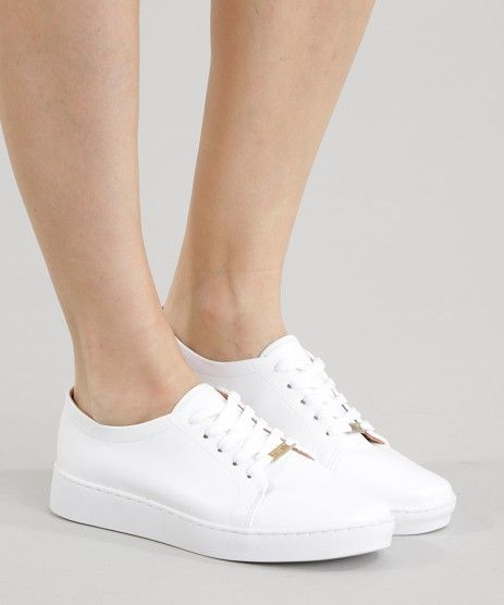 ec7fdc860 Tenis-Vizzano-Branco-8498811-Branco_2 Sapatos Branco Feminino, Tênis Branco  Feminino