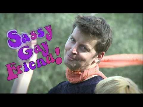 Love these videos from Second City. SASSY GAY FRIEND - Hamlet.